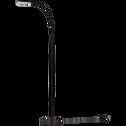 Lampadaire à LED en métal noir H140cm-SUZY