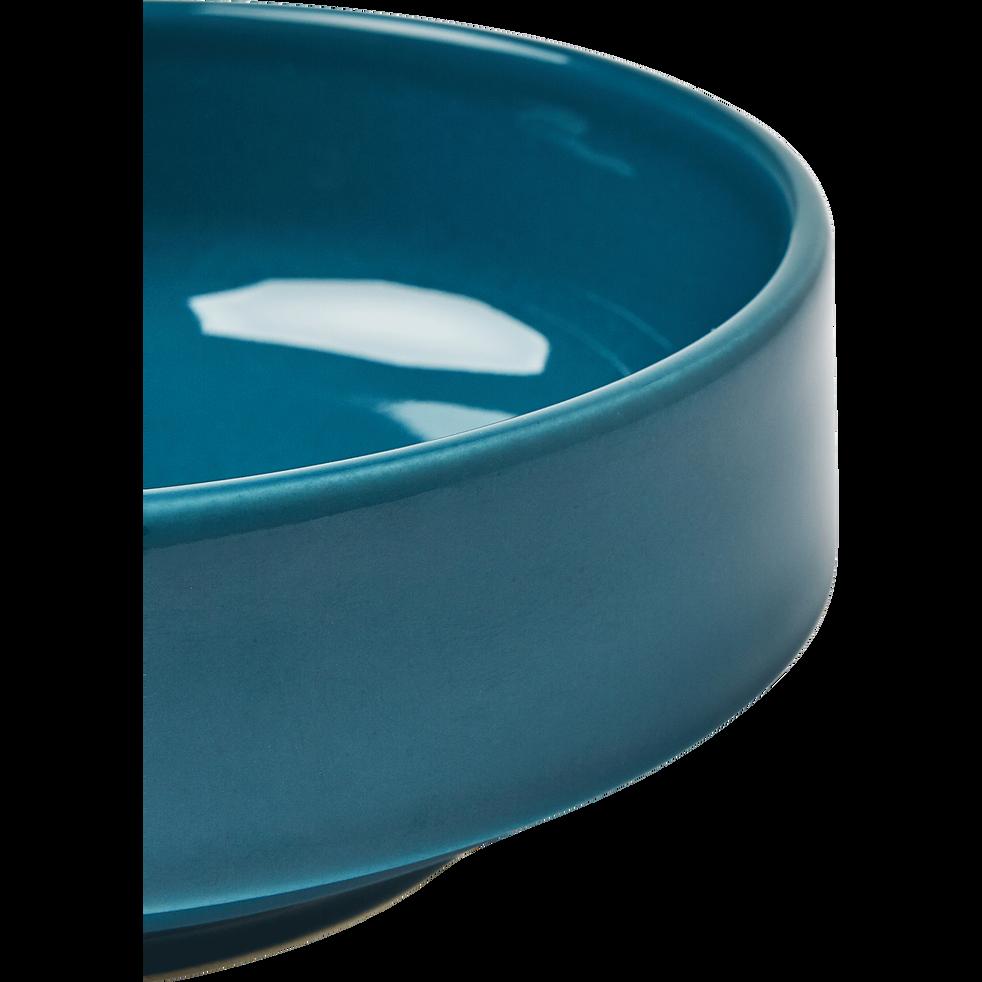Coupelle en faïence bleu figuerolles D15.5cm-VADIM