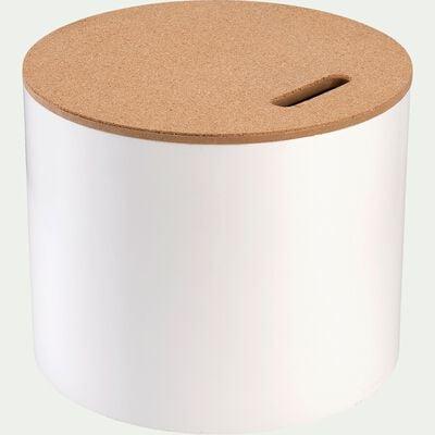Boîte de rangement décorative - blanc-Corko