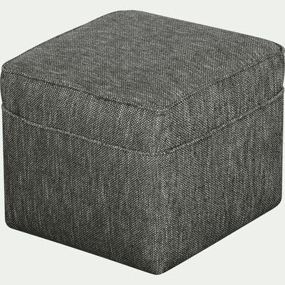 Pouf en tissu - gris restanque-BARTHOLE