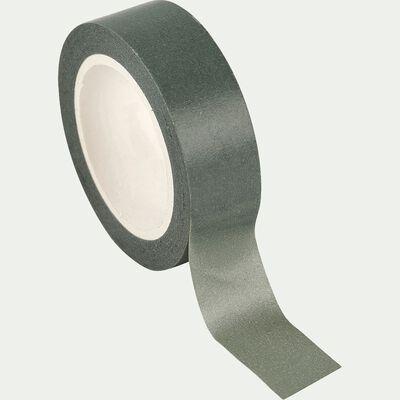 Ruban adhésif en papier vert olivier-Lindos