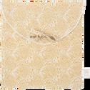 Lot de 2 taies d'oreiller en lin motifs Amandes - 65x65 cm-GOYA