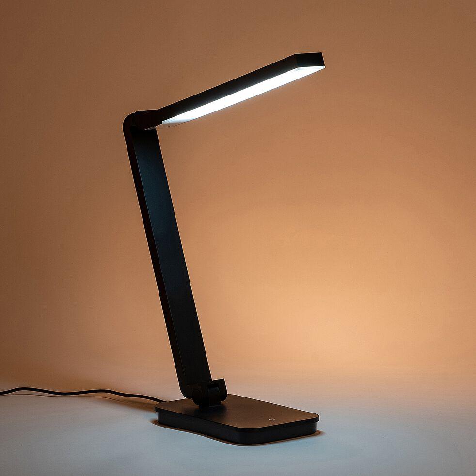 Lampe à poser LED tactile - noir-TORI