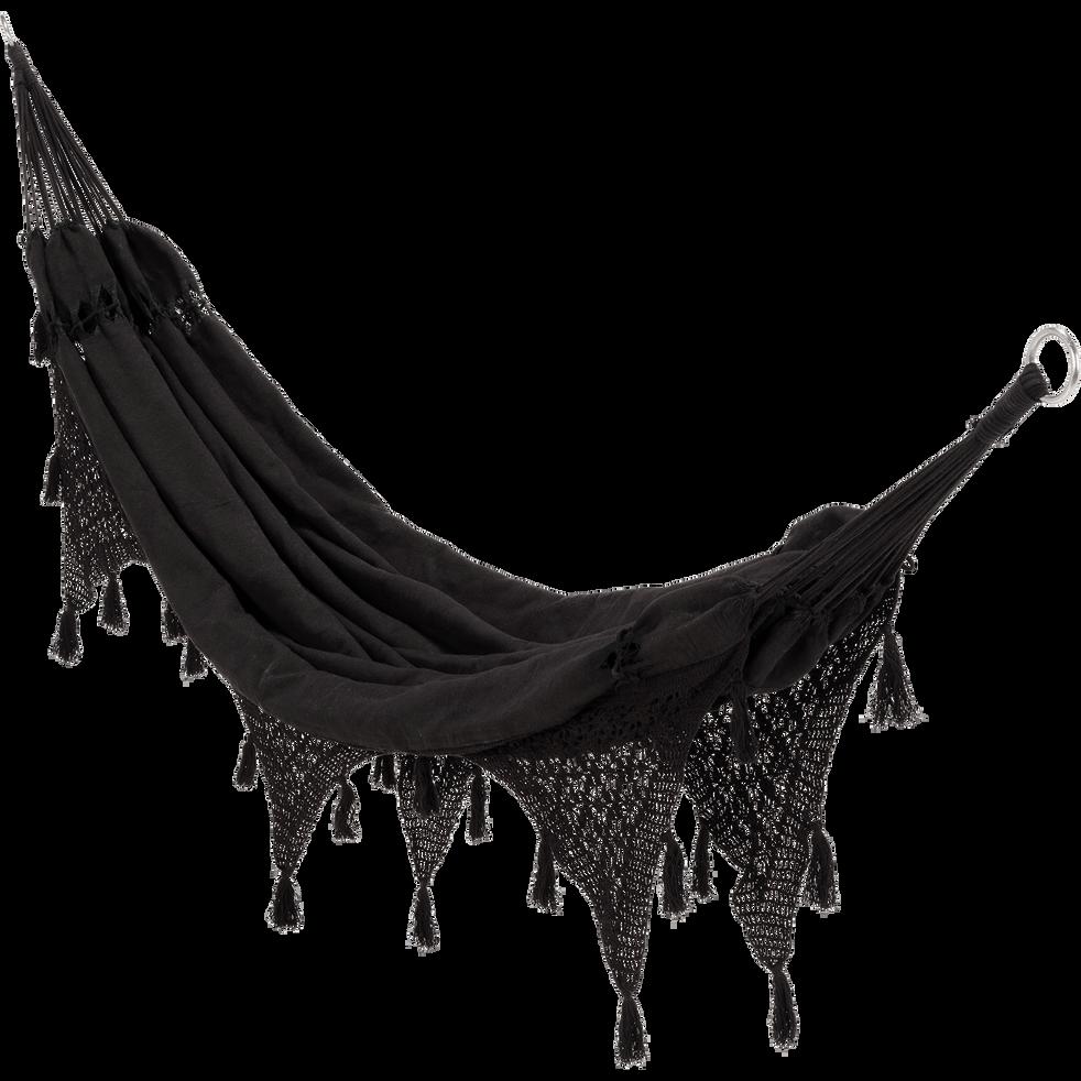 Hamac En Tissu Noir 1 Personne Ines Hamacs Et Fauteuils