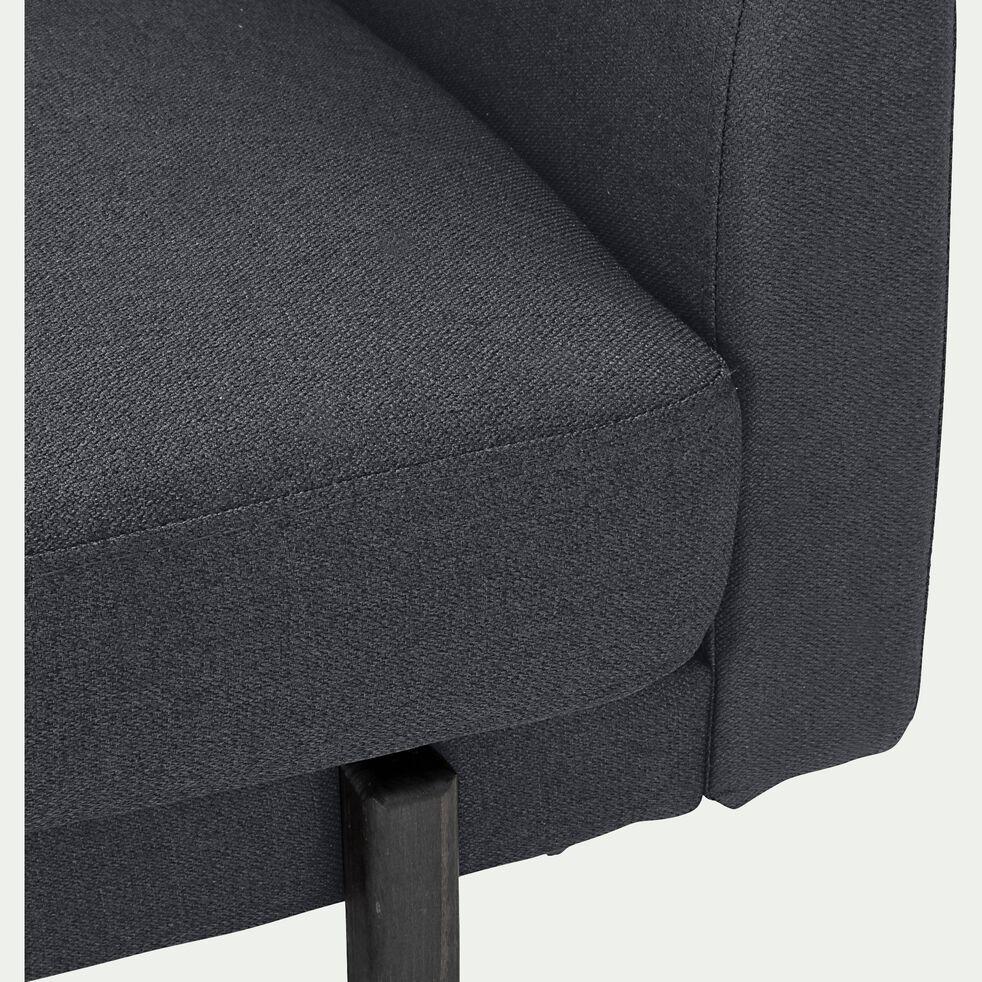 Canapé d'angle réversible 3 places en tissu - gris restanque-CARLES