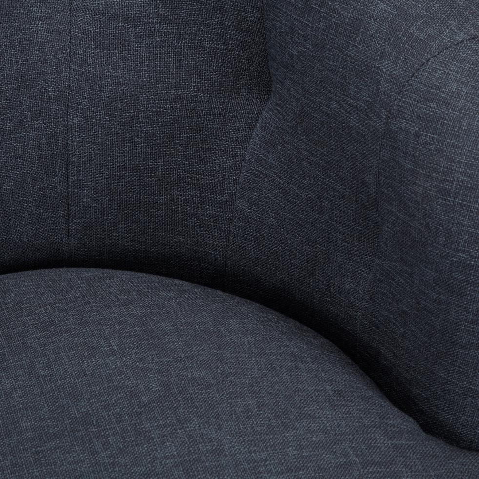 Fauteuil en tissu gris calabrun-MARCELLIN