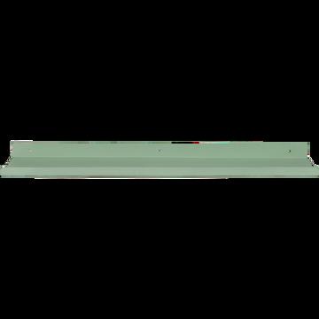Étagère murale en acier verte olivier L60xl10xH3cm-AGY