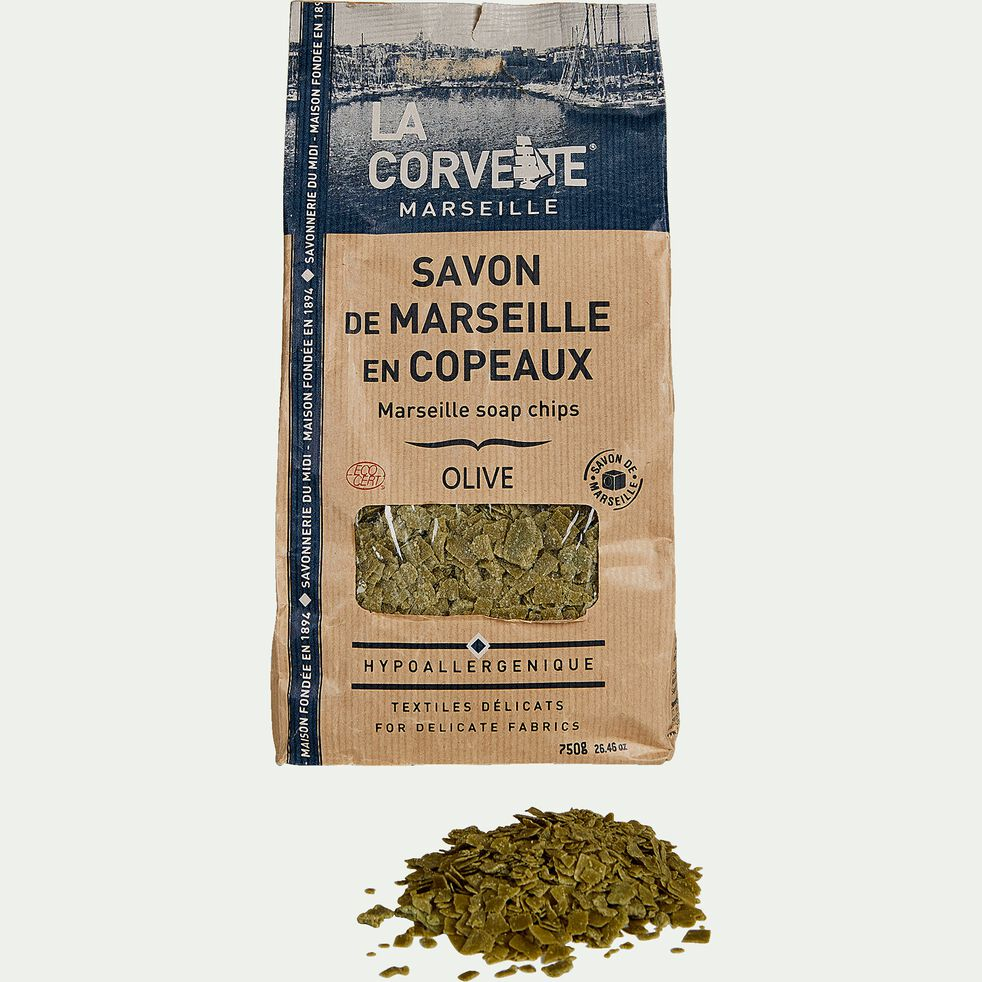 Savon de Marseille en copeaux à l'huile d'olive 750g-La Corvette