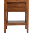 Table de chevet en acacia massif 1 tiroir-THAO