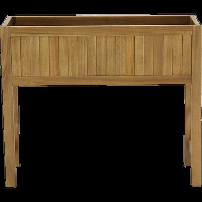 Jardinière en bois 60x20x50cm-ANGELE