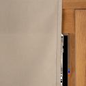 Chemin de table en coton beige alpilles 45x200cm-VENASQUE
