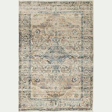 Tapis à motif oriental - marron 130x190cm-KREMAS