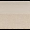 Serviette invité en coton 30x50cm beige roucas-AZUR