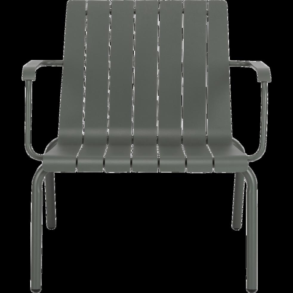 Fauteuil de jardin aluminium vert c dre paradou fauteuils de jardin alinea - Alinea fauteuil jardin ...