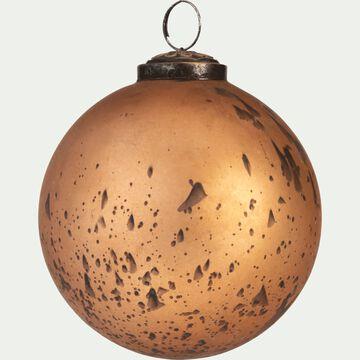 Boule de Noël en verre cuivre D10cm-MELILLA