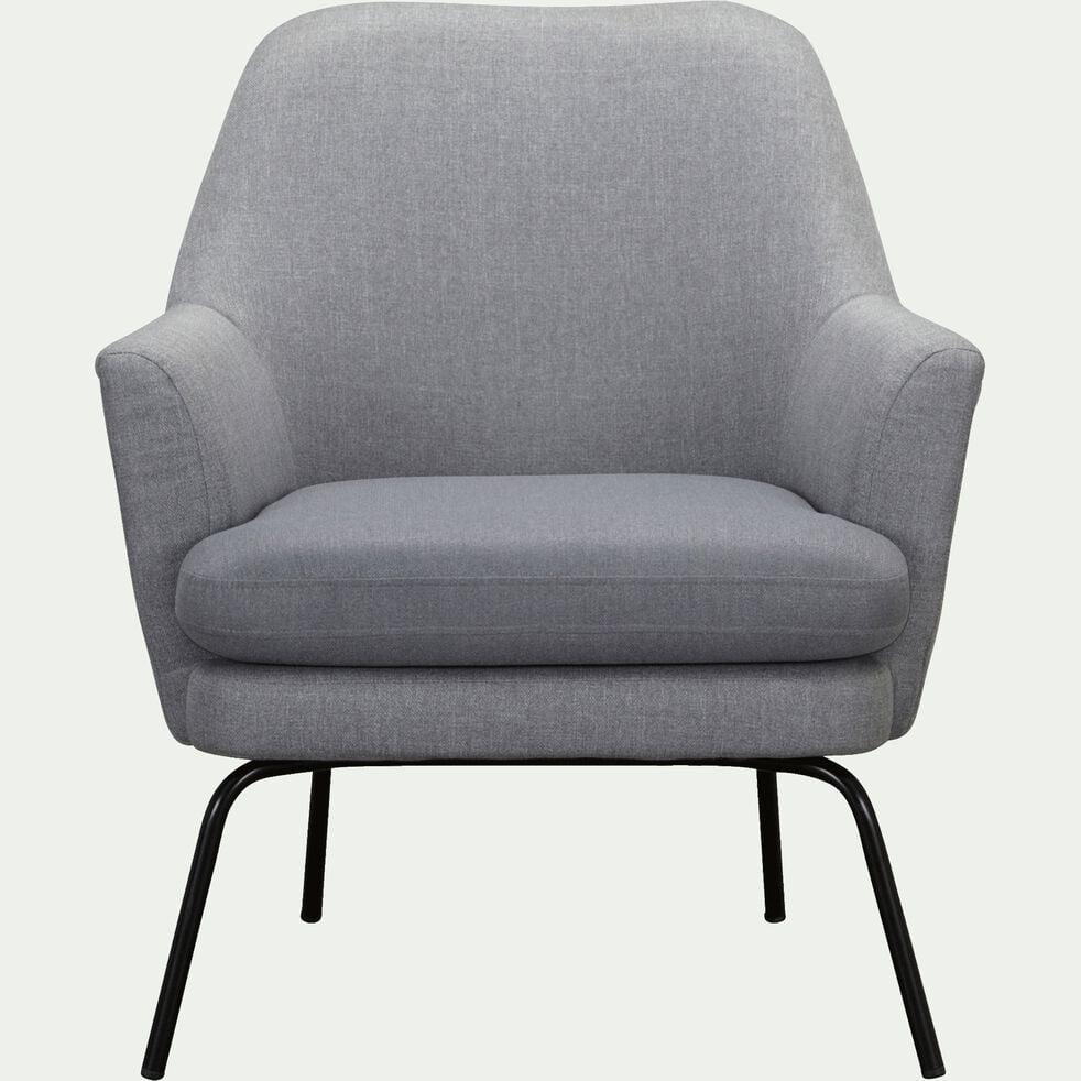 Fauteuil Lit Convertible Alinea mona - fauteuil en tissu gris restanque