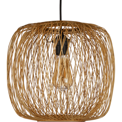 Suspension en bambou D35xH30cm-BARJACA