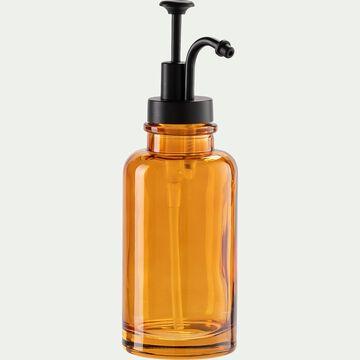 Distributeur de savon en verre - marron-MIMOSA