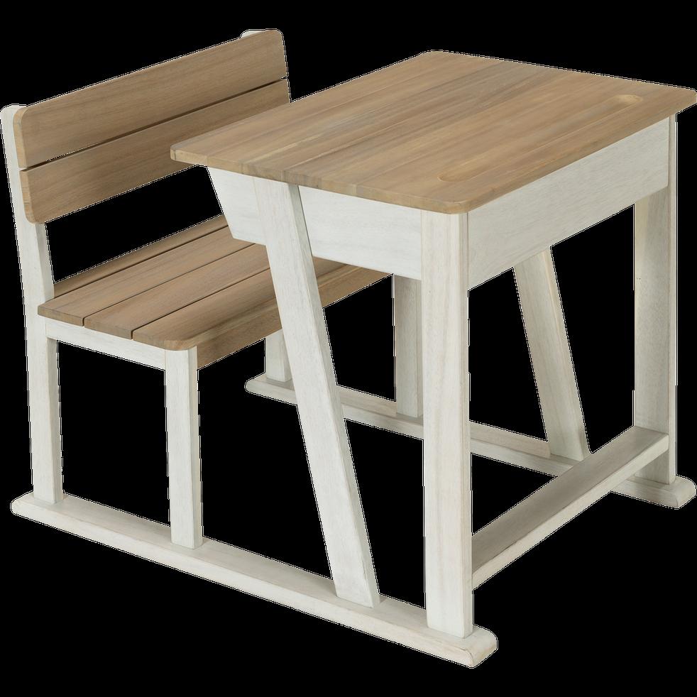 bureau d 39 colier pour enfant en acacia jules chaises et bureaux enfant alinea. Black Bedroom Furniture Sets. Home Design Ideas