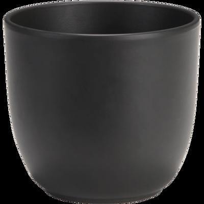 Pot noir mat en céramique (plusieurs tailles)-TUSCA