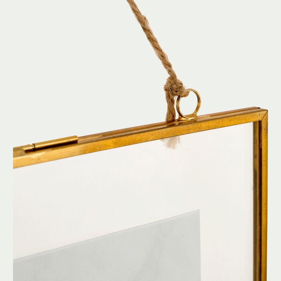 Cadre métal doré 19x23 cm-ALBATROS