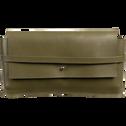 Trousse en cuir H11x21cm-EUGENIE