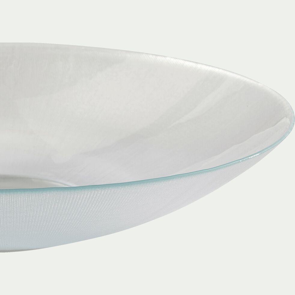 Saladier en verre - transparent D38,5cm-ELIT