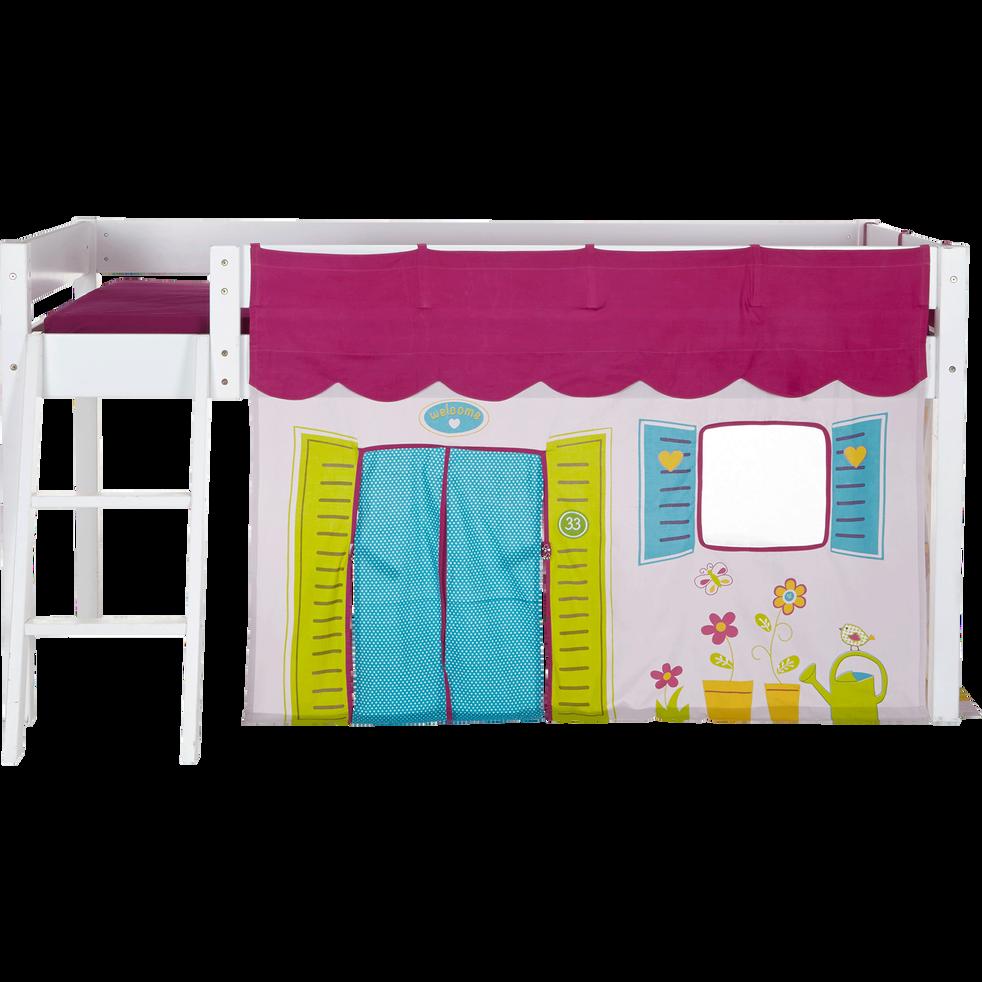 Welcome - Tente pour lit enfant mi-haut (90x190 ou 90x200cm)