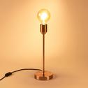 Lampe à poser en métal cuivré H40cm-DOUG