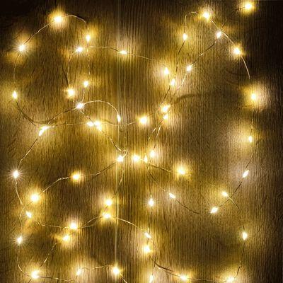 Guirlande électrique - D1x295cm jaune-LECITA