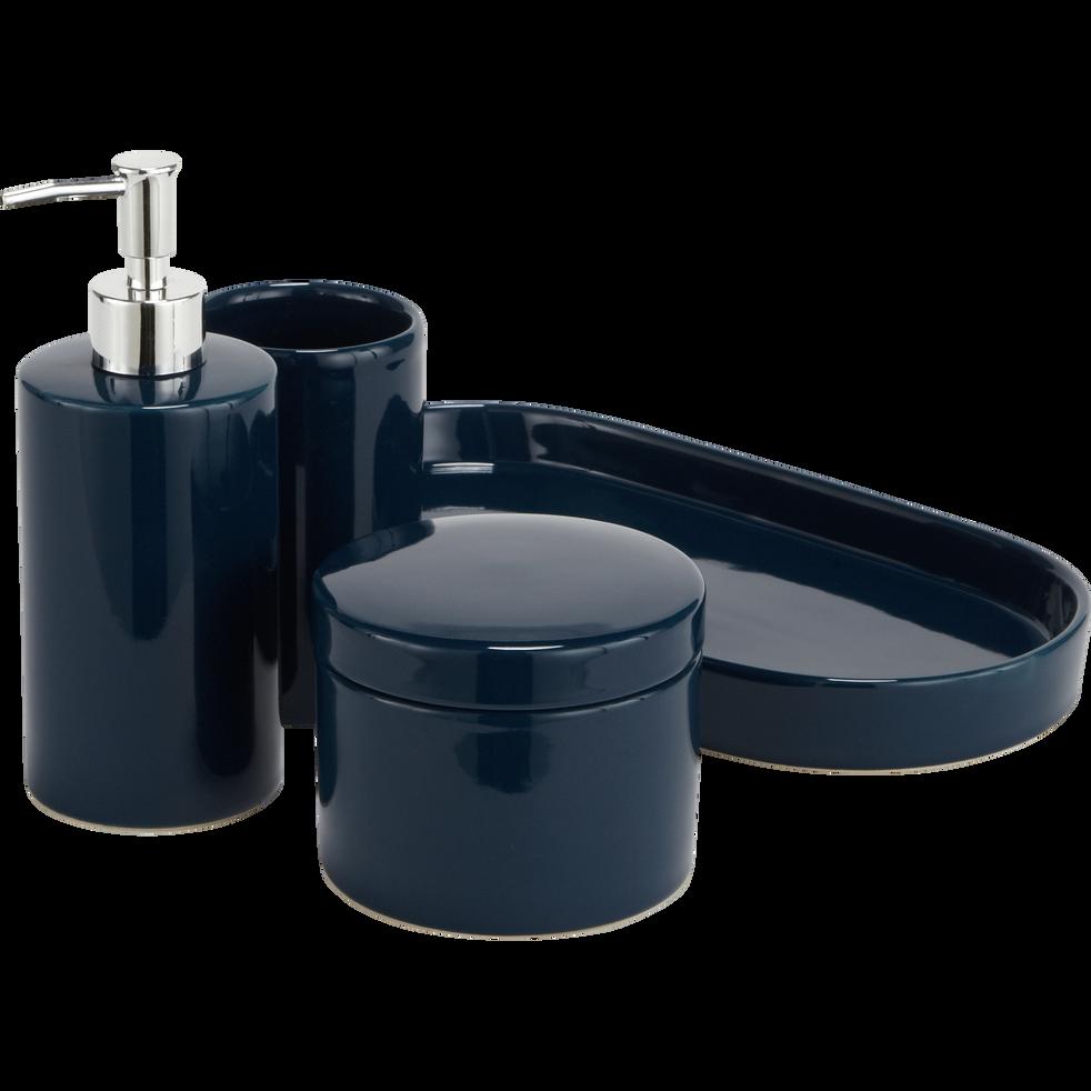 Plateau de salle de bain en grès Bleu-PROSPER