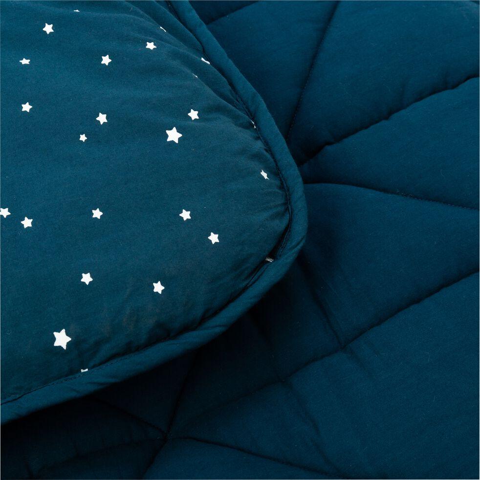 Tapis pour tipi 100x100 cm bleu figuerolles-LUENS