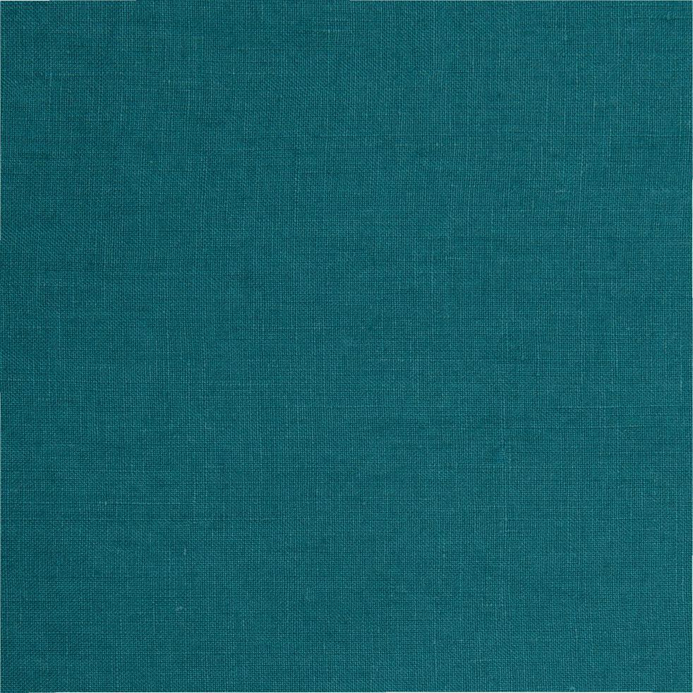 Housse de couette et 2 taies d'oreiller en lin - vert 260x240cm-VENCE