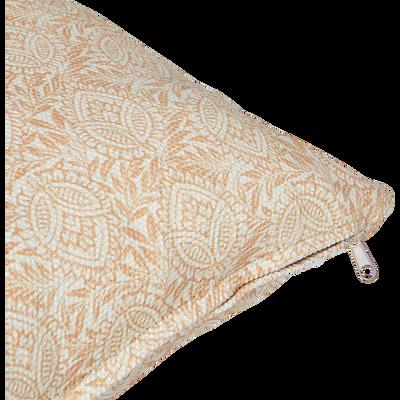 Coussin d'extérieur déperlant beige roucas 40x40cm-Trayas