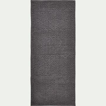Tapis de bain rectangulaire antidérapant - l50xL120cm gris restanque-Picus