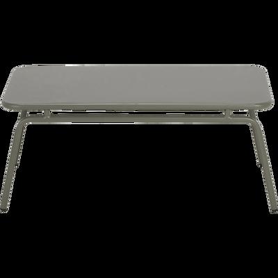 Table basse en acier Vert cèdre-BELLAGIO