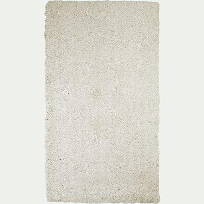 Descente de lit shaggy - beige roucas 60x110cm-CELAN