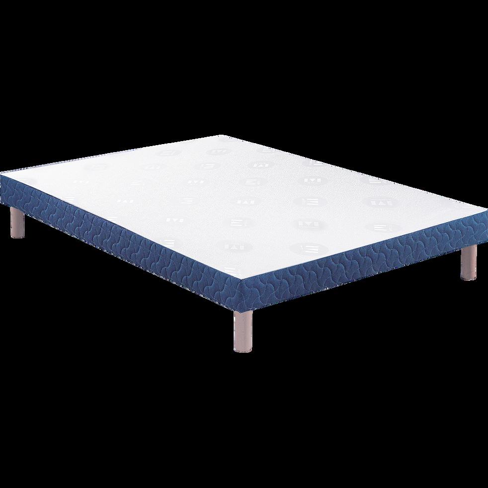 Sommier tapissier Merinos 14 cm - 90x190 cm-KUBA