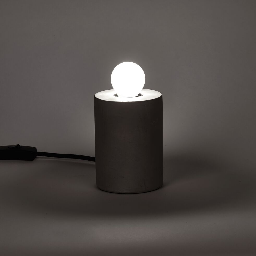 Ampoule LED verre dépoli D4,5cm blanc froid culot E14-SPHERE