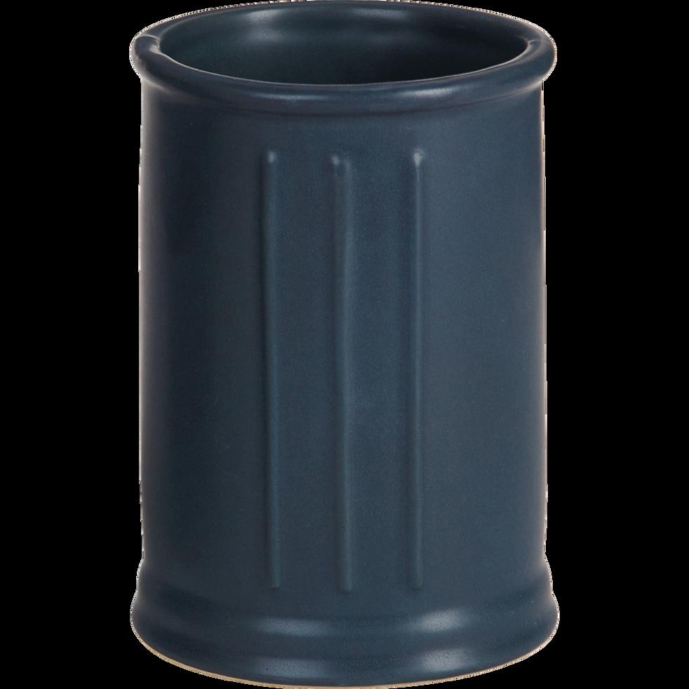 Gobelet en céramique noir-MECA