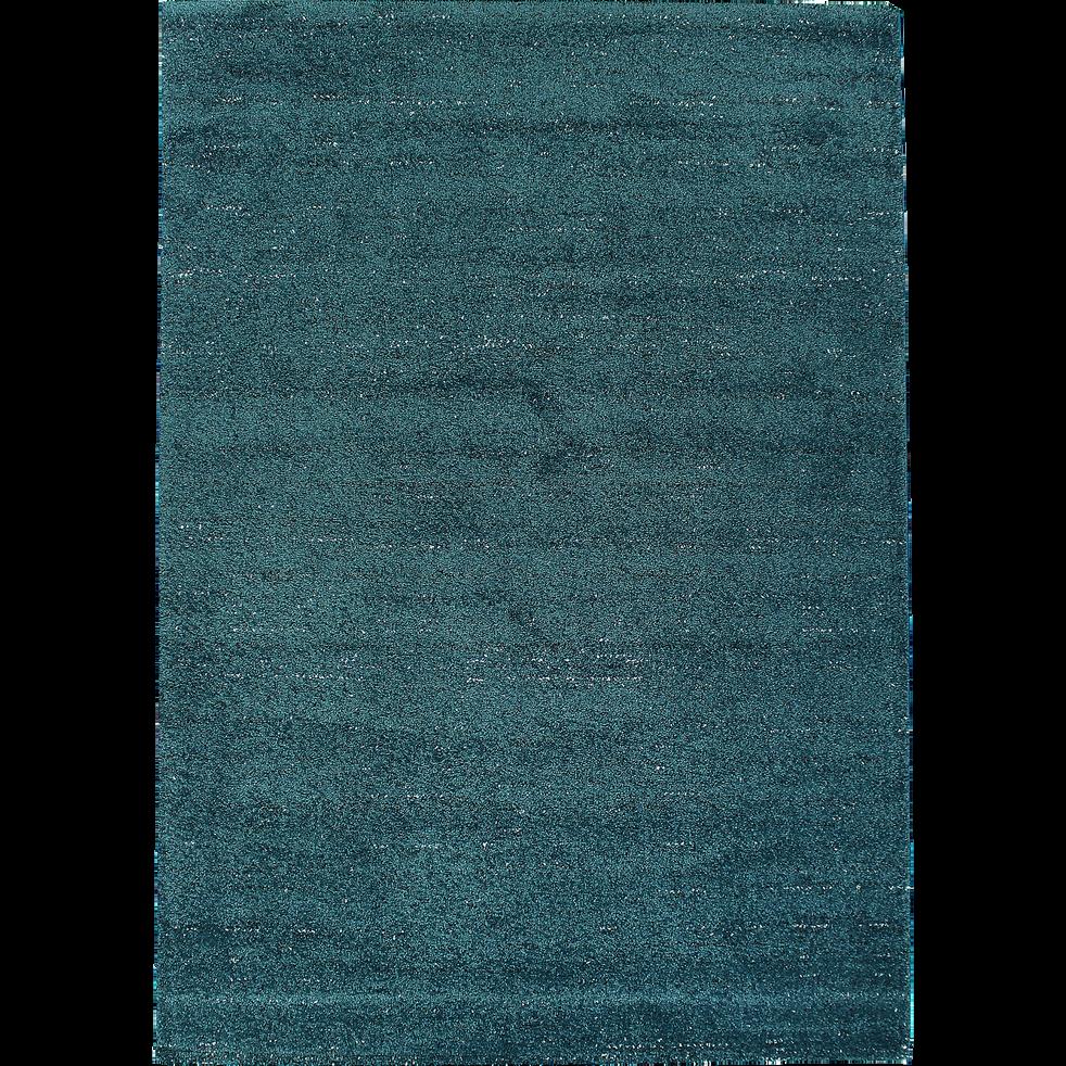 tapis bleu canard mouchet 200x290cm stessy 200x290 cm catalogue storefront alin a alinea. Black Bedroom Furniture Sets. Home Design Ideas