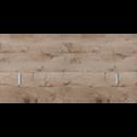 Tête de lit chêne cendré pour lit L140 cm et L160 cm-BROOKLYN