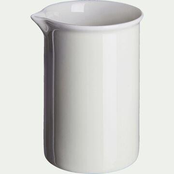 Crémier en porcelaine - beige roucas D7xH10cm-CAFI