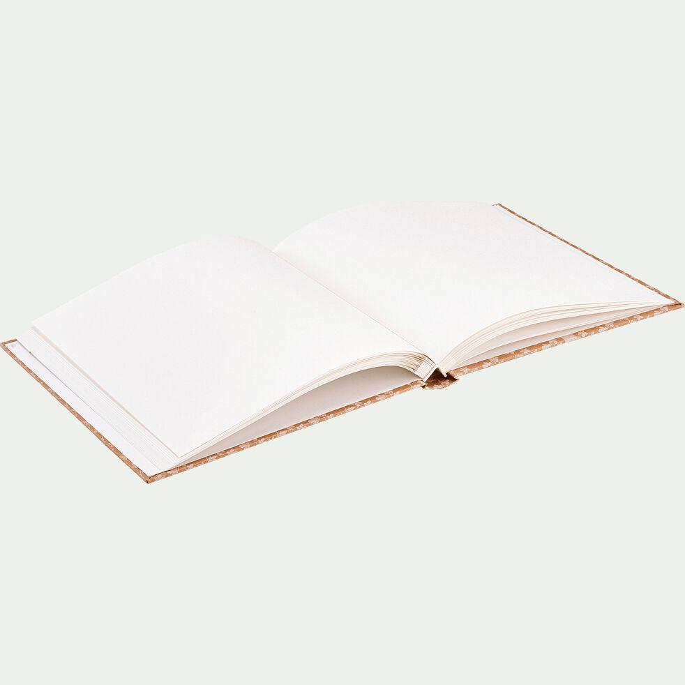 Album photo motif Figuier - beige 25x25cm-FIGUIER