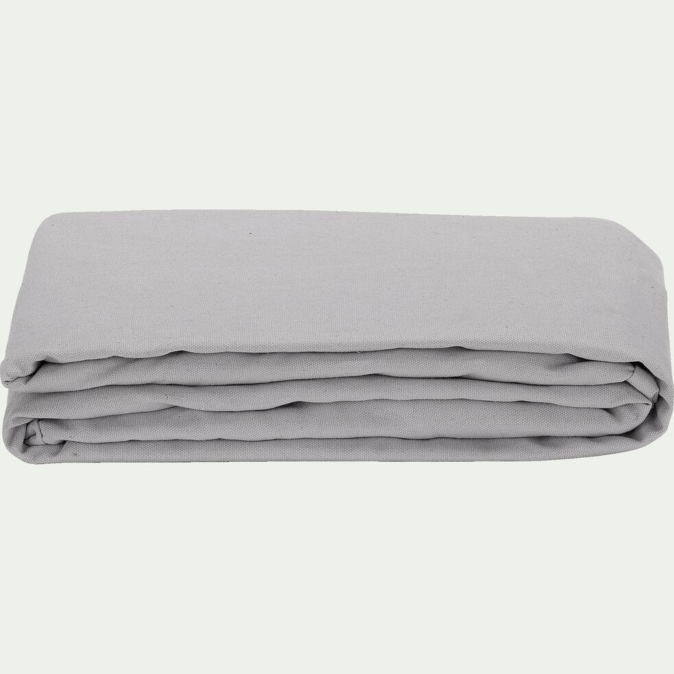 Housse pour clic-clac en polycoton - gris borie L195cm-PAULINE