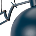 Lampadaire en métal bleu figuerolles H178cm-XXL