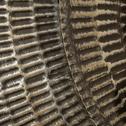 Décoration murale en métal brun D91cm-VESTITA