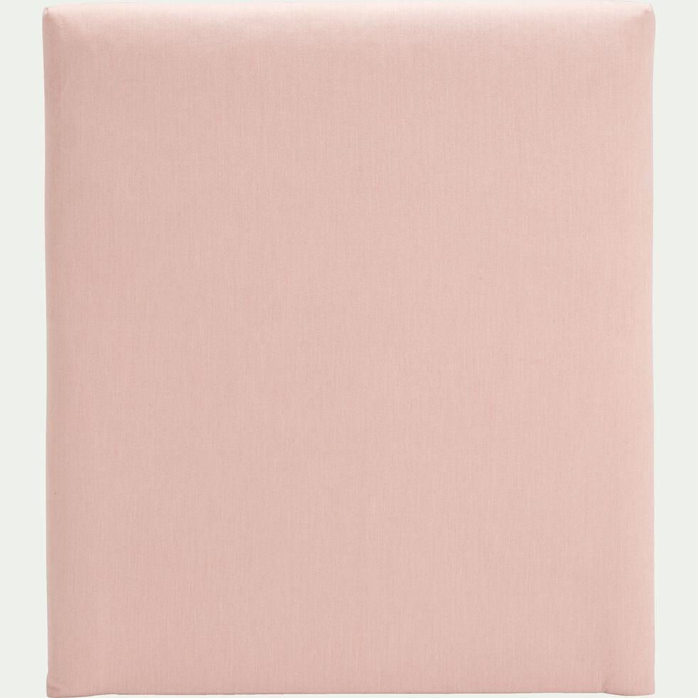 Housse en polyester pour tête de lit Topaze l90 cm - rose sablé-TOPAZE