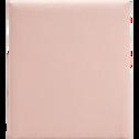 housse pour tête de lit topaze rose sablé - l90 cm-TOPAZE