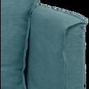 Méridienne droite en lin bleu calaluna-VENCE